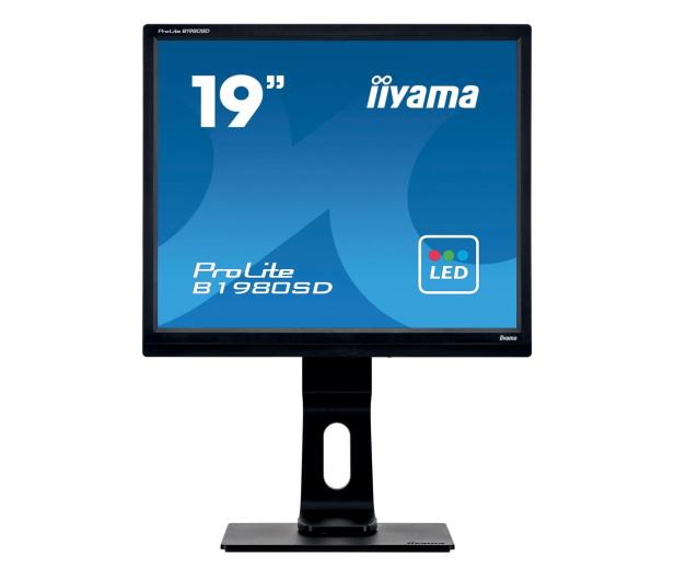 iiyama B1980SD czarny - 154773 - zdjęcie