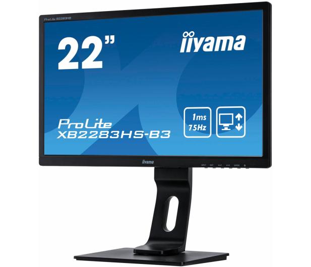 iiyama XB2283HS-B3 - 405380 - zdjęcie 2