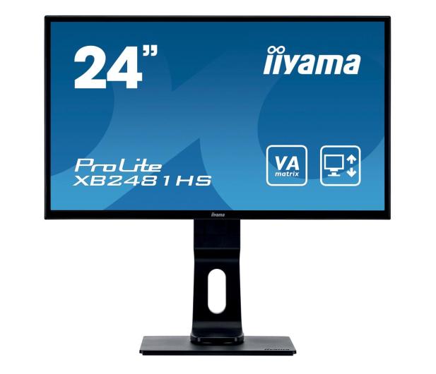iiyama XB2481HS czarny - 230459 - zdjęcie