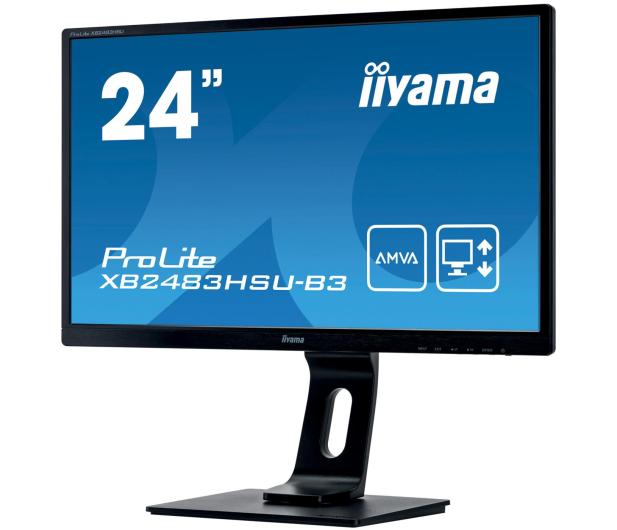 iiyama XB2483HSU-B3 - 380633 - zdjęcie 3