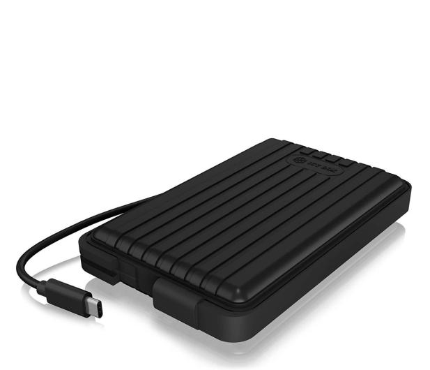 """ICY BOX Obudowa do dysku 2.5"""" (USB-C, IP66) - 541596 - zdjęcie"""