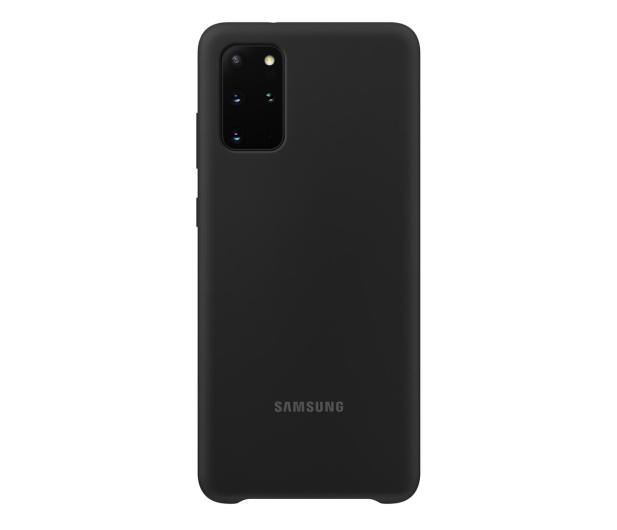 Samsung Silicone Cover do Galaxy S20+ Black  - 544161 - zdjęcie