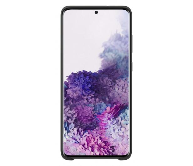 Samsung Silicone Cover do Galaxy S20+ Black  - 544161 - zdjęcie 2