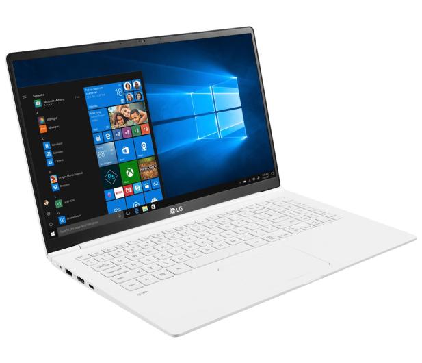 LG GRAM 15Z990 i5-8265U/8GB/512/Win10 biały - 543971 - zdjęcie 3