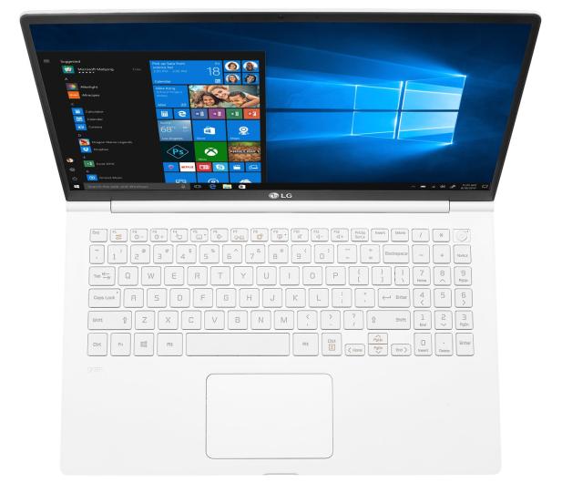 LG GRAM 15Z990 i5-8265U/8GB/512/Win10 biały - 543971 - zdjęcie 2
