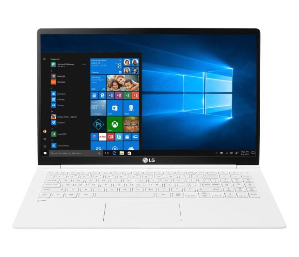 LG GRAM 15Z990 i5-8265U/8GB/512/Win10 biały - 543971 - zdjęcie