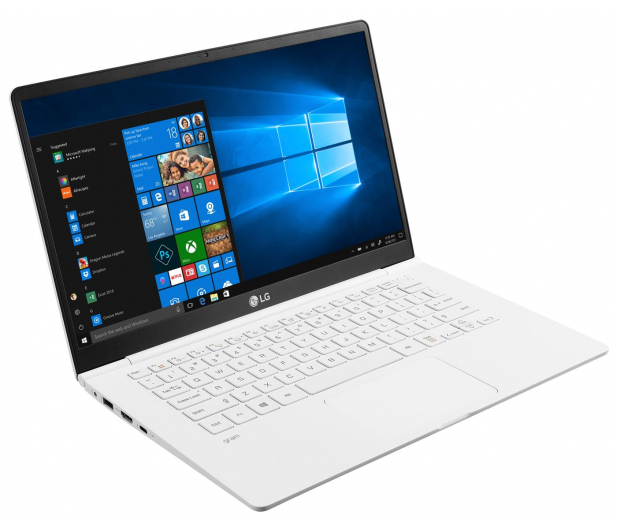 LG GRAM 14Z990 i5-8265U/8GB/256/Win10 biały - 543958 - zdjęcie 3