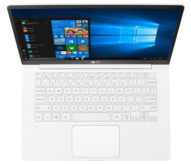 LG GRAM 14Z990 i5-8265U/8GB/256/Win10 biały - 543958 - zdjęcie 2
