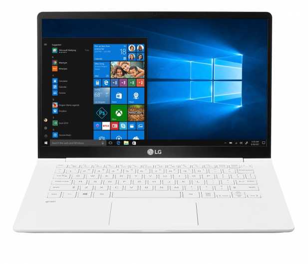 LG GRAM 14Z990 i5-8265U/8GB/256/Win10 biały - 543958 - zdjęcie