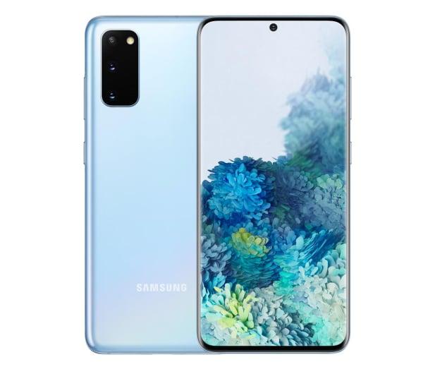 Samsung Galaxy S20 G980F Dual SIM Blue + Clear View Cover - 544321 - zdjęcie 2