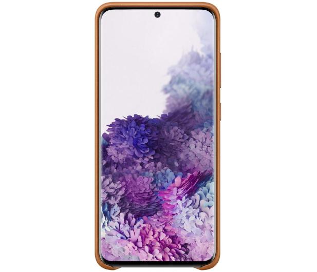Samsung Leather Cover do Galaxy S20 Brown  - 544140 - zdjęcie 2
