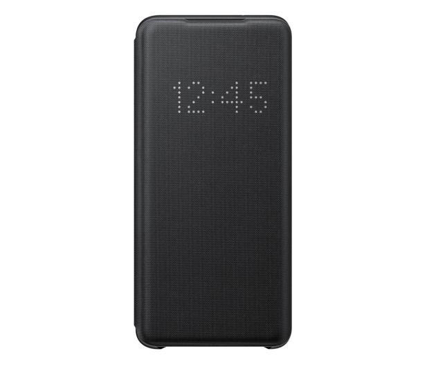 Samsung LED View Cover do Galaxy S20 Black  - 544118 - zdjęcie