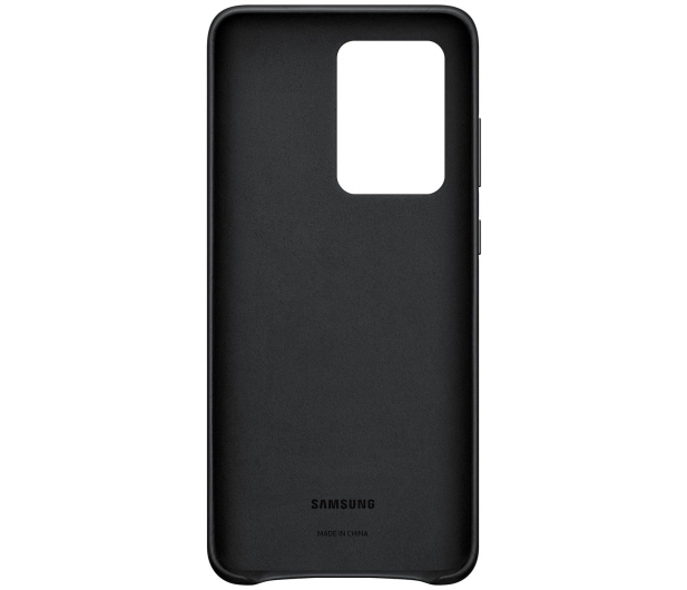Samsung Leather Cover do Galaxy S20 Ultra Black  - 544189 - zdjęcie 3