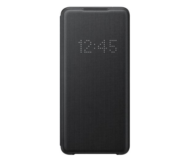 Samsung LED View Cover do Galaxy S20 Ultra Black  - 544179 - zdjęcie