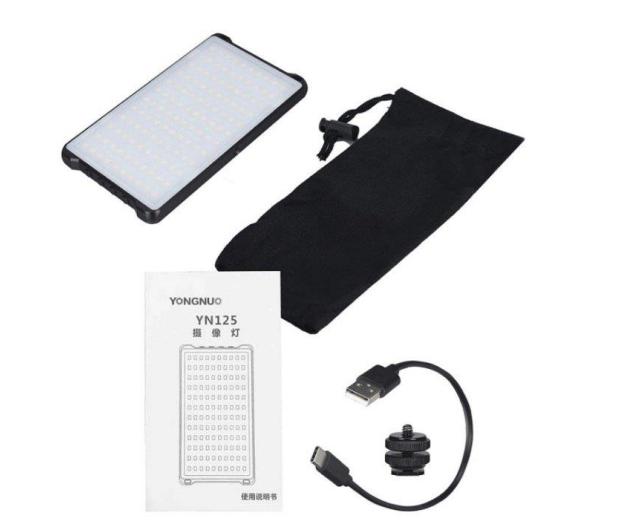 Yongnuo LED YN125 II WB (3200K-5600K) - 544035 - zdjęcie 4
