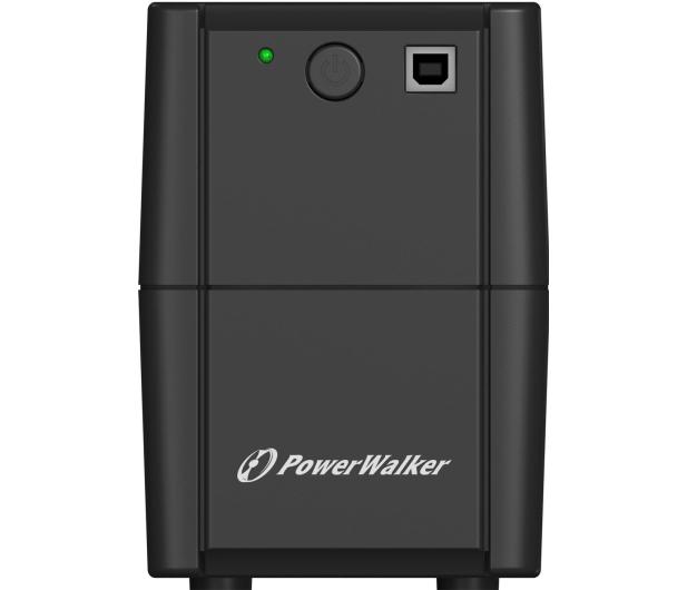 Power Walker LINE-INTERACTIVE (850VA/480W, 2x Schuko, AVR) - 544083 - zdjęcie 2