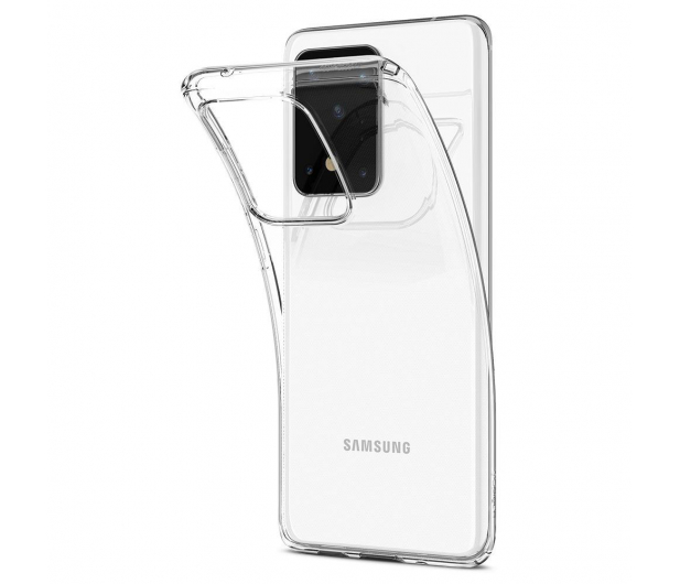 Spigen Liquid Crystal do Samsung Galaxy S20 Ultra Clear   - 545105 - zdjęcie 3