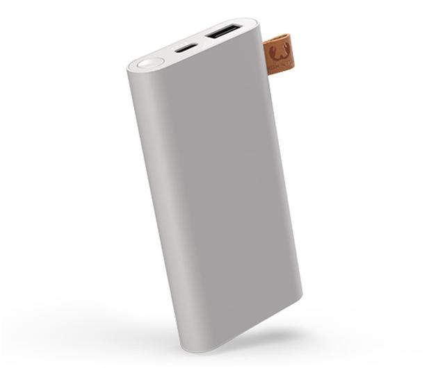 Fresh N Rebel Power Bank 6000 mAh (USB-C, Ice Grey) - 545689 - zdjęcie
