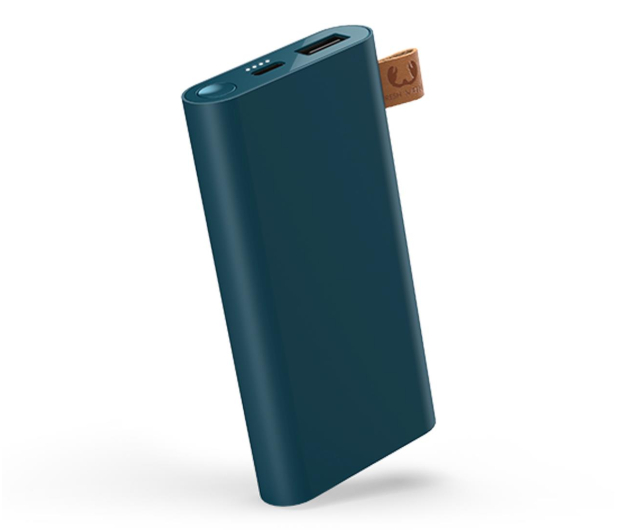 Fresh N Rebel Power Bank 6000 mAh (USB-C, Petrol Blue) - 545692 - zdjęcie