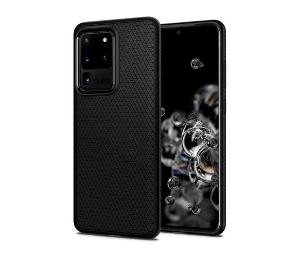 Spigen Liquid Air do Samsung Galaxy S20 Ultra czarny   - 545108 - zdjęcie