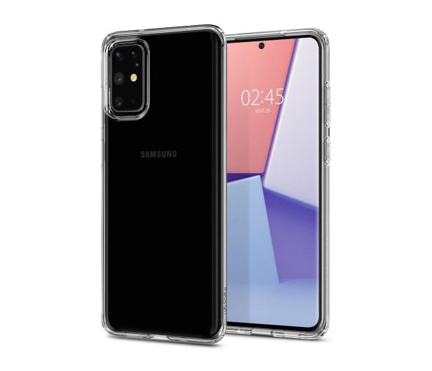 Spigen Liquid Crystal do Samsung Galaxy S20+ Clear   - 545117 - zdjęcie