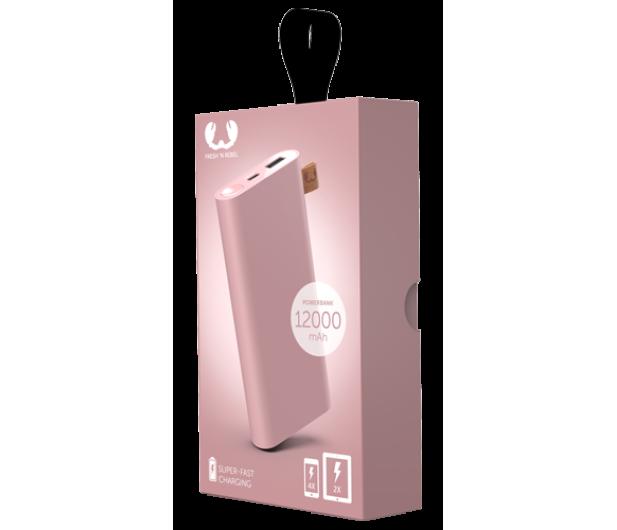Fresh N Rebel Power Bank 12000 mAh (USB-C, Dusty Pink) - 545698 - zdjęcie 2