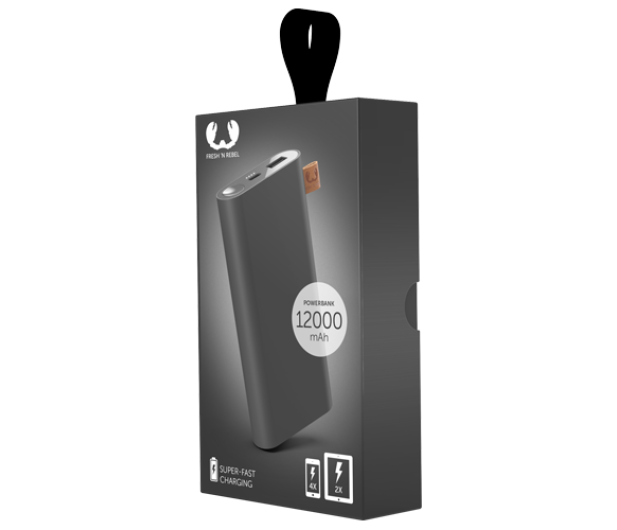 Fresh N Rebel Power Bank 12000 mAh (USB-C, Storm Grey) - 545702 - zdjęcie 2