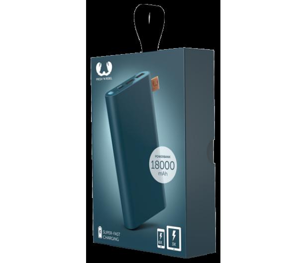 Fresh N Rebel Power Bank 18000 mAh (USB-C, Petrol Blue) - 545706 - zdjęcie 2