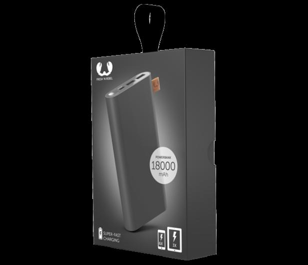 Fresh N Rebel Power Bank 18000 mAh (USB-C, Storm Grey) - 545708 - zdjęcie 2