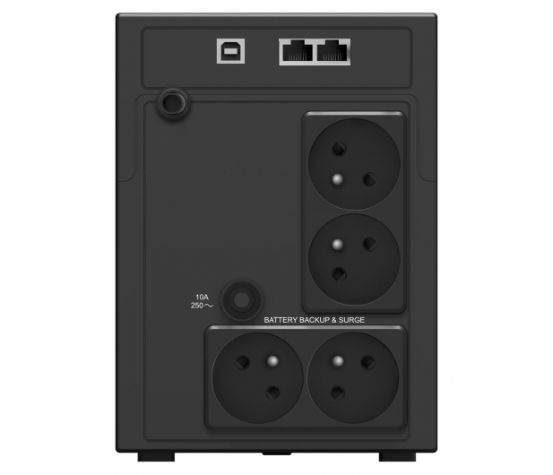 Power Walker LINE-INTERACTIVE (1200VA/720W, 4x PL, LCD, AVR) - 544110 - zdjęcie 3