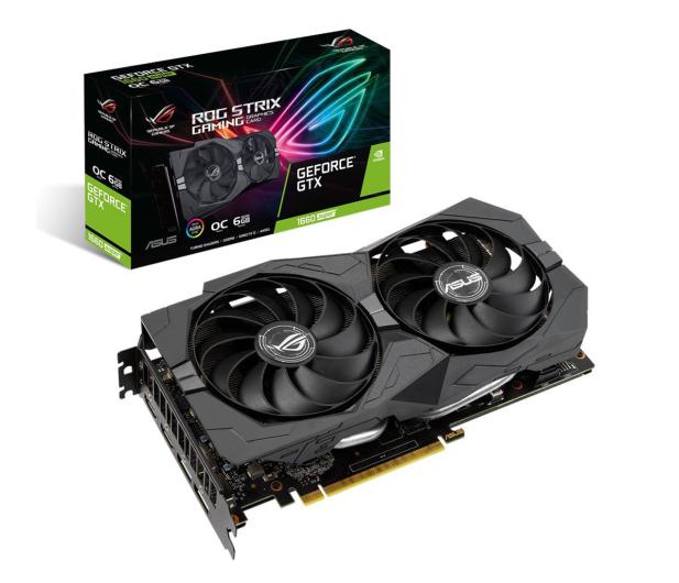 ASUS GeForce GTX 1660 SUPER ROG OC 6GB GDDR6 - 545139 - zdjęcie
