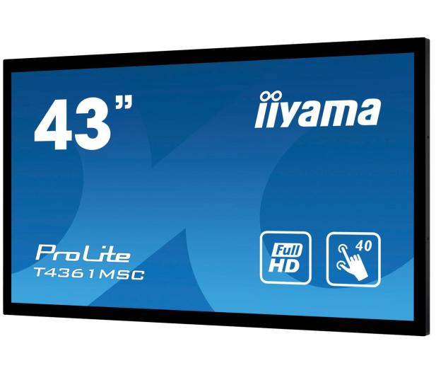iiyama T4361MSC-B1 dotykowy LFD - 518004 - zdjęcie 2