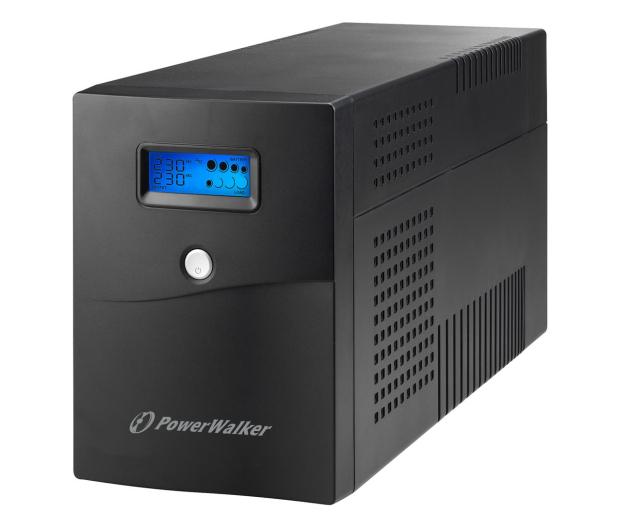 Power Walker LINE-INTERACTIVE (3000VA/1800W, 4x Schuko, LCD) - 544729 - zdjęcie