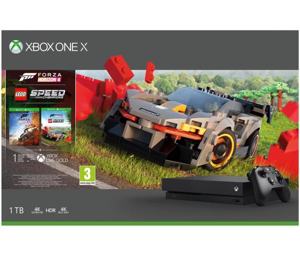 Microsoft Xbox One X 1TB + Forza Horizon 4 + LEGO DLC - 544764 - zdjęcie 6