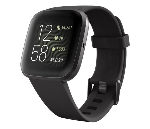 Fitbit Versa 2 czarny  - 544833 - zdjęcie