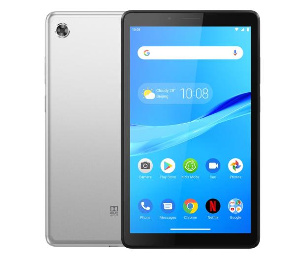 Lenovo Tab M7 MT8765/1GB/16GB/Android Pie LTE Platynowy - 545528 - zdjęcie