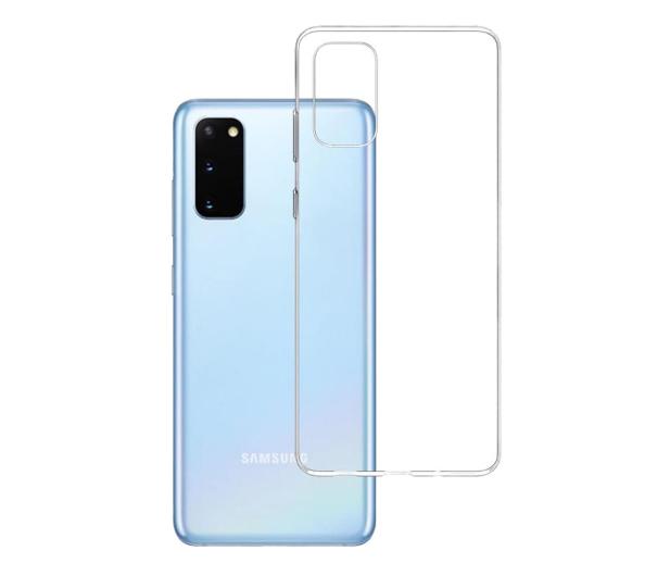 3mk Clear Case do Samsung Galaxy S20 - 544209 - zdjęcie