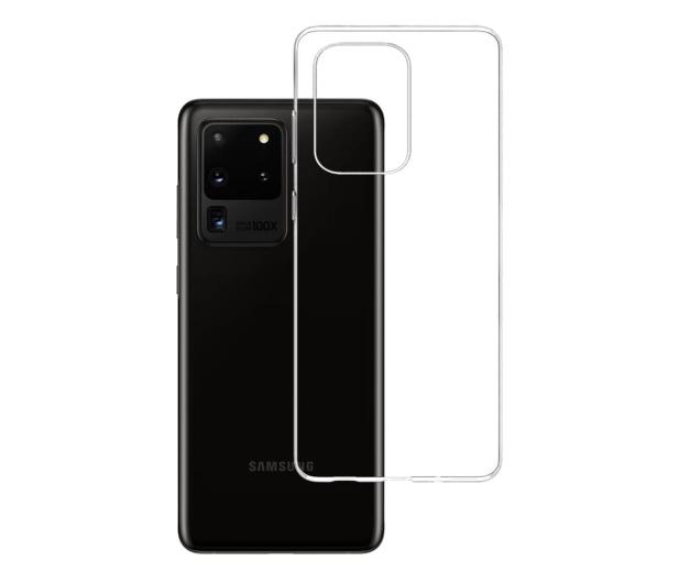 3mk Clear Case do Samsung Galaxy S20 Ultra - 544210 - zdjęcie