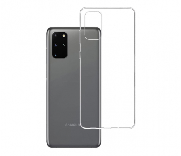 3mk Clear Case do Samsung Galaxy S20+ - 544211 - zdjęcie
