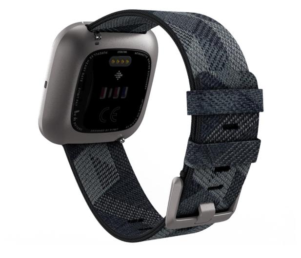 Fitbit Versa 2 Special Edition szaro-czarny - 544838 - zdjęcie 4