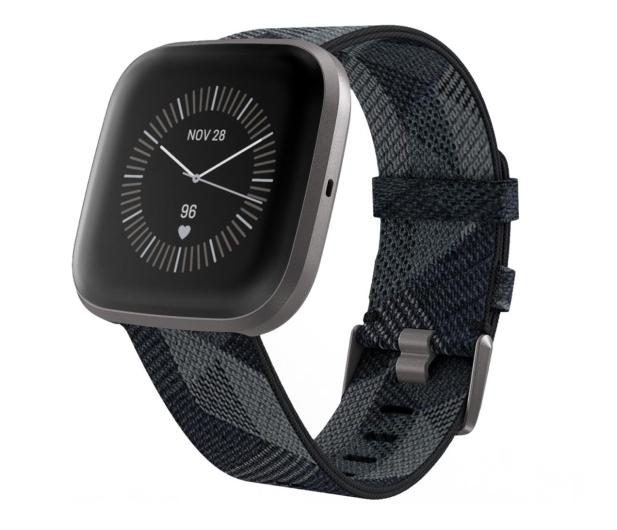 Fitbit Versa 2 Special Edition szaro-czarny - 544838 - zdjęcie