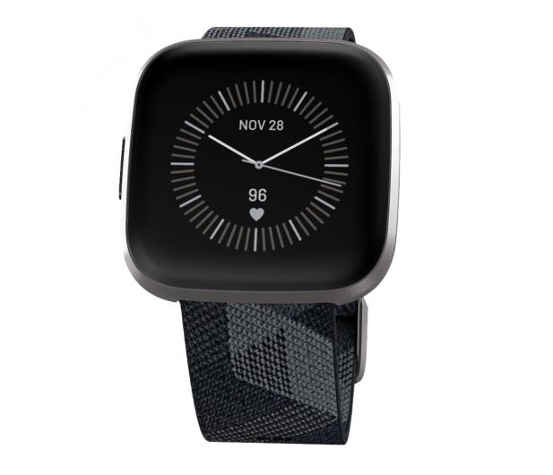 Fitbit Versa 2 Special Edition szaro-czarny - 544838 - zdjęcie 2