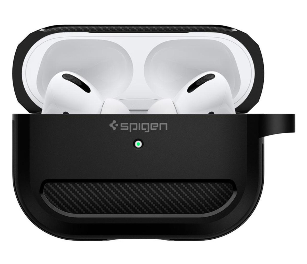 Spigen Rugged Armor do Apple AirPods Pro czarne  - 541352 - zdjęcie 4