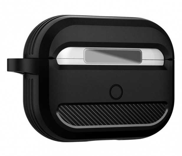 Spigen Rugged Armor do Apple AirPods Pro czarne  - 541352 - zdjęcie 3