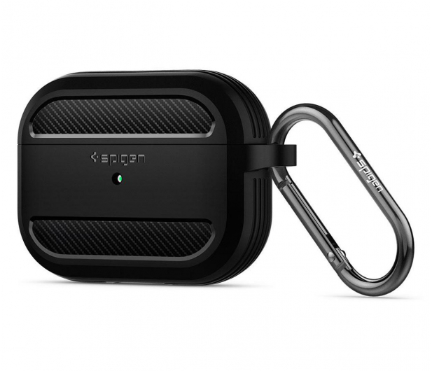 Spigen Rugged Armor do Apple AirPods Pro czarne  - 541352 - zdjęcie 6