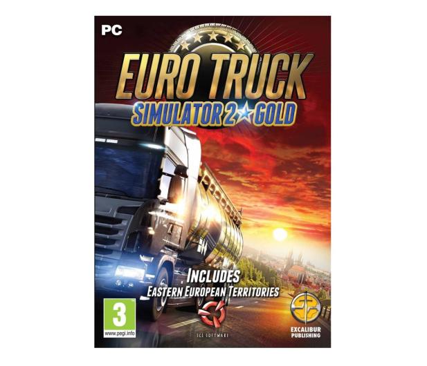 PC Euro Truck Simulator 2 (Gold Edition) ESD Steam - 525126 - zdjęcie