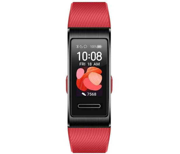 Huawei Band 4 Pro czerwona - 539167 - zdjęcie 2