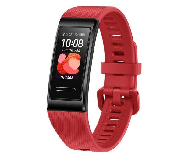 Huawei Band 4 Pro czerwona - 539167 - zdjęcie