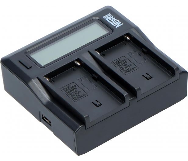 Newell DC-LCD do akumulatorów serii NP-FM, NP-F - 545418 - zdjęcie 2