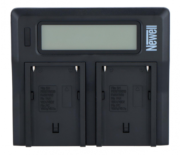 Newell DC-LCD do akumulatorów serii NP-FM, NP-F - 545418 - zdjęcie